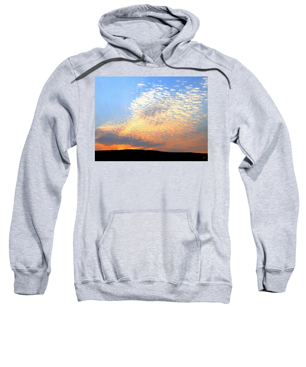 Mackerel Sky Sweatshirt featuring the photograph Mackerel Sky by Will Borden