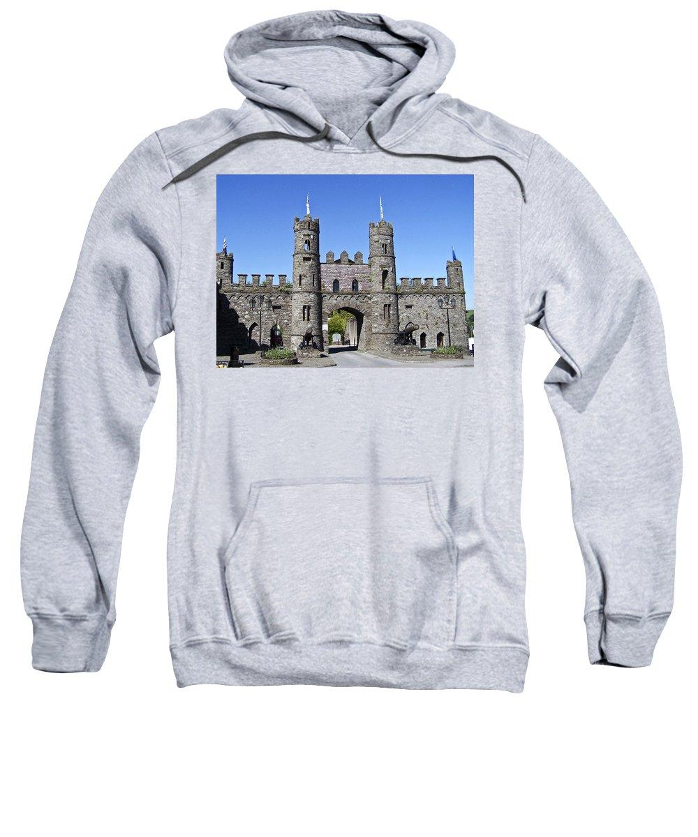 Irish Sweatshirt featuring the photograph Macroom Castle Ireland by Teresa Mucha