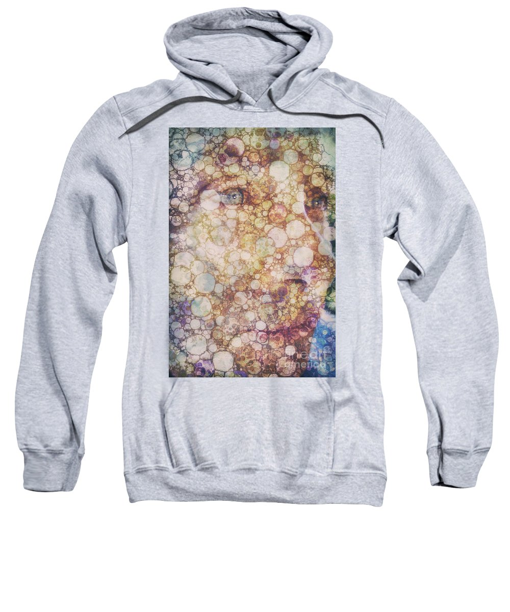 Abstract Sweatshirt featuring the photograph Made For More by Davy Cheng