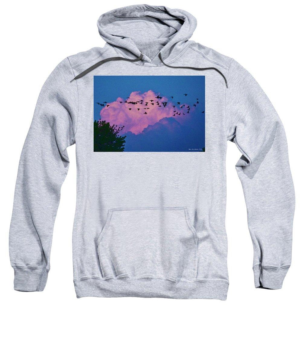 Cloud Sweatshirt featuring the photograph Magenta Dream by Yuri Lev