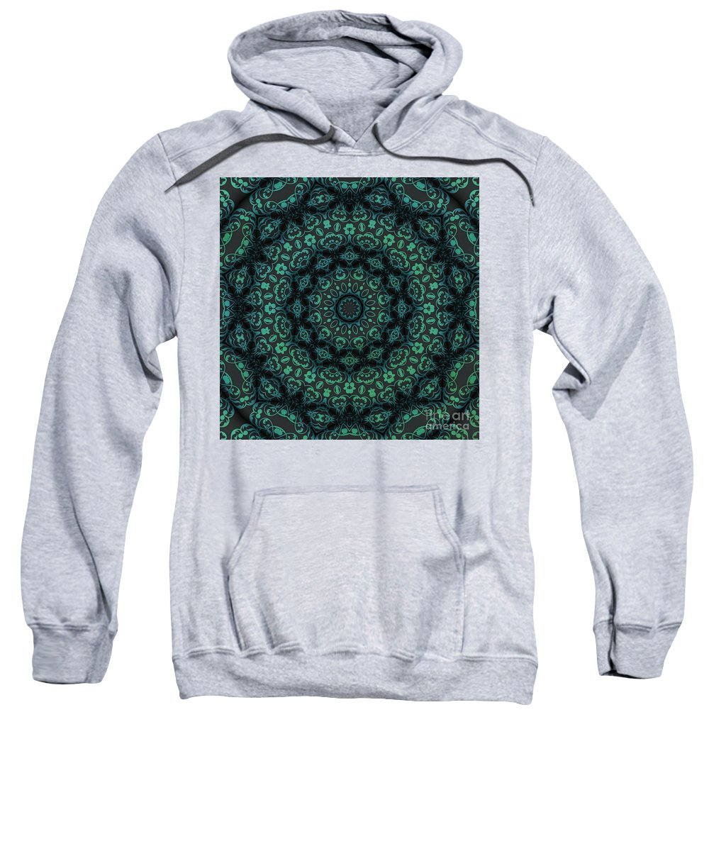 Magic Sweatshirt featuring the digital art Magic 13 by Justyna JBJart