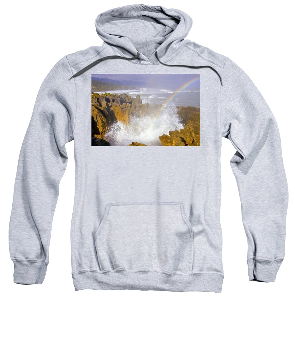 Paparoa Sweatshirt featuring the photograph Making Miracles by Mike Dawson