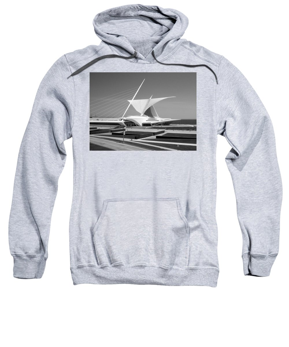 Mam Sweatshirt featuring the photograph Mam In Bw by Anita Burgermeister