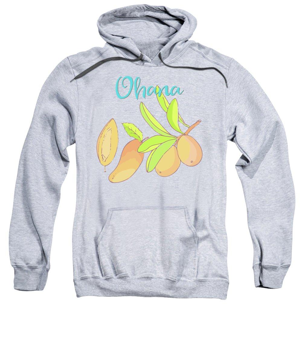Mango Hooded Sweatshirts T-Shirts