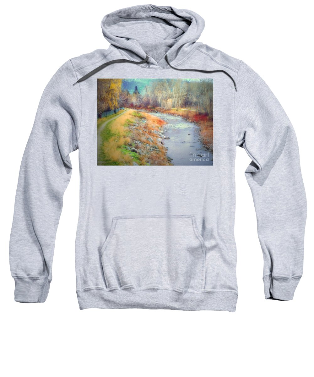 Creek Sweatshirt featuring the photograph March 21 2010 by Tara Turner