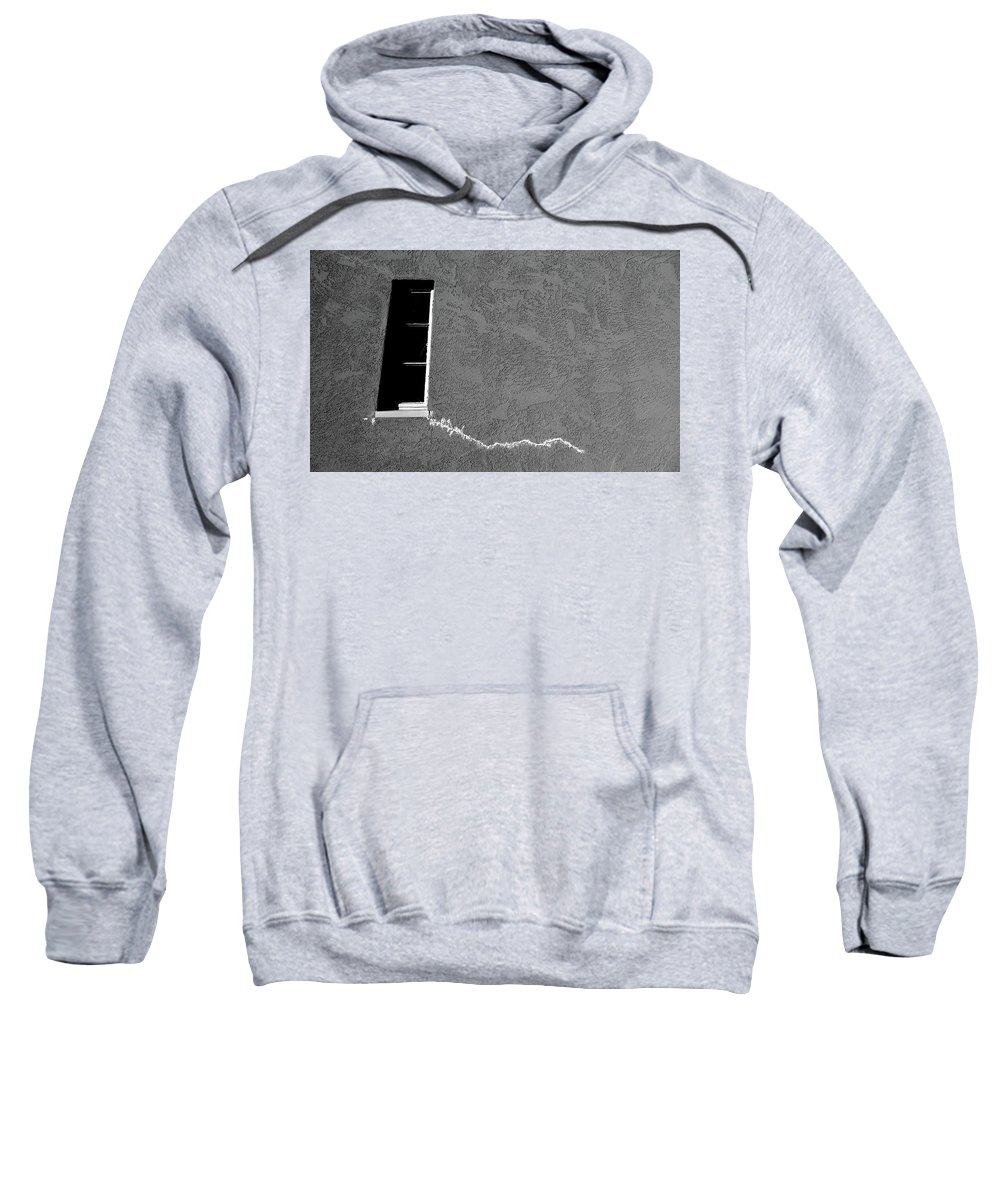 Cml Brown Sweatshirt featuring the photograph Masonic Window by CML Brown