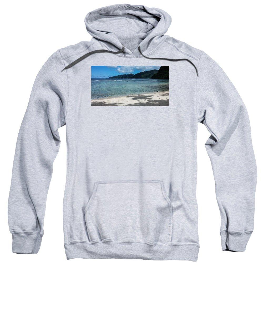 Massacre Bay Sweatshirt featuring the photograph Massacre Bay by Brenda Smith DVM