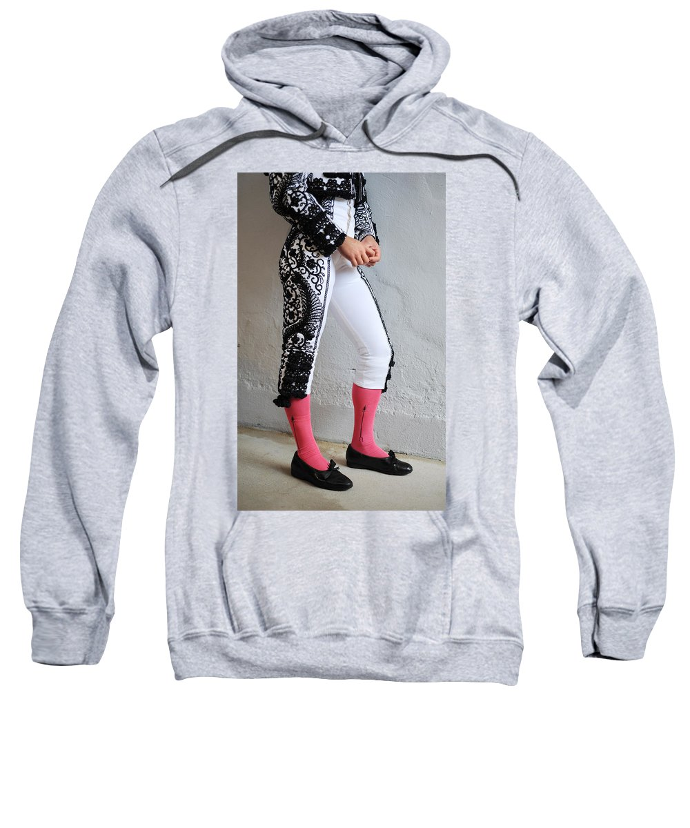 Spain Sweatshirt featuring the photograph Matador's Legs by Rafa Rivas