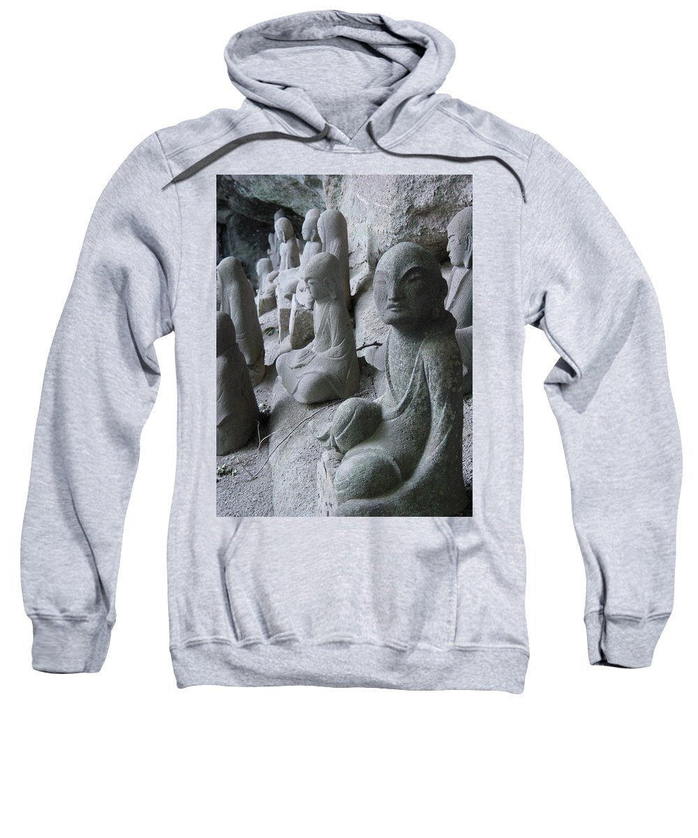 Statues Sweatshirt featuring the photograph May I Help You by D Turner