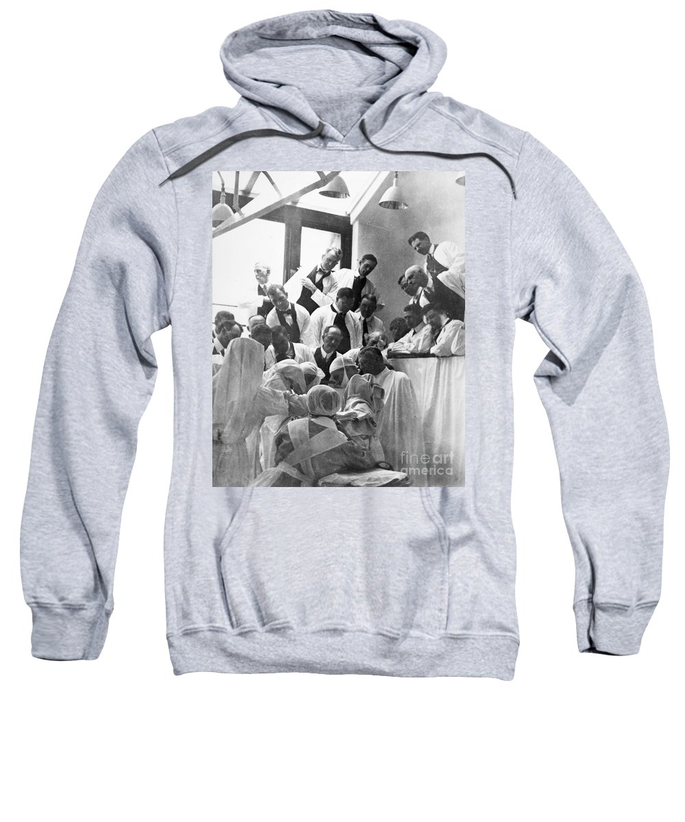 1913 Sweatshirt featuring the photograph Mayo Clinic, 1913 by Granger