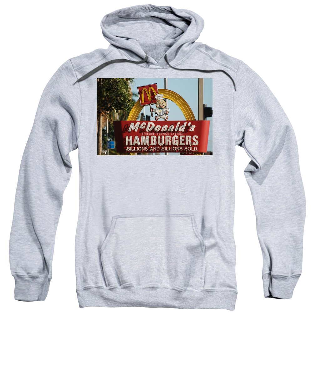 Mcdonalds Sweatshirt featuring the photograph Mc Donalds by Rob Hans