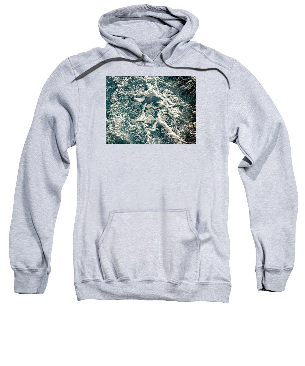 Mediterranean Sea Sweatshirt featuring the photograph Mediterranean Sea Art 55 by Richard Rosenshein