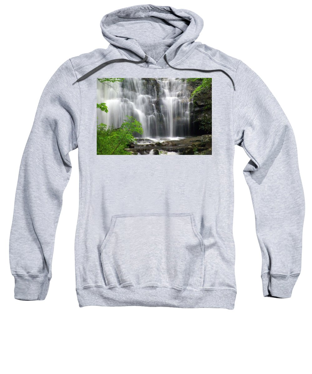 Meigs Falls Sweatshirt featuring the photograph Meigs Falls 2 by Marty Koch
