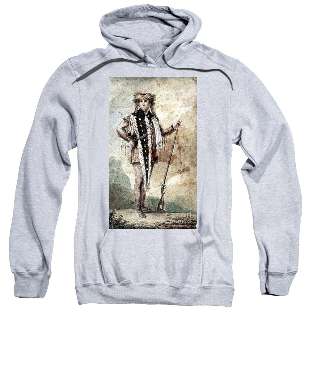 1809 Sweatshirt featuring the painting Meriwether Lewis by Granger