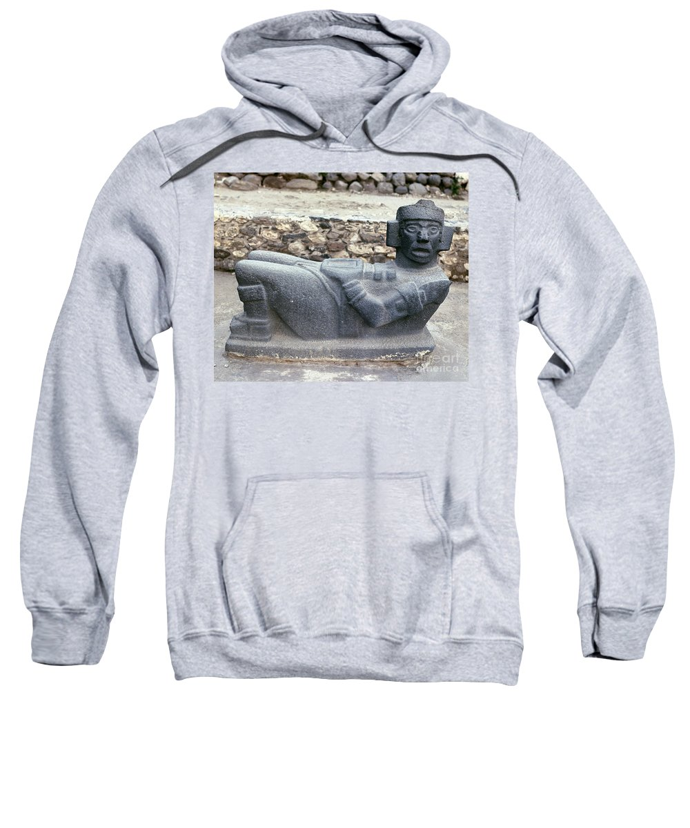 10th Century Sweatshirt featuring the photograph Mexico: Toltec Altar by Granger