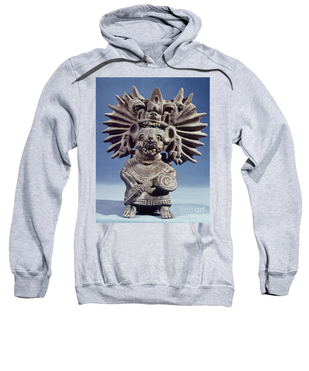 100 Sweatshirt featuring the photograph Mexico: Vampire Goddess by Granger