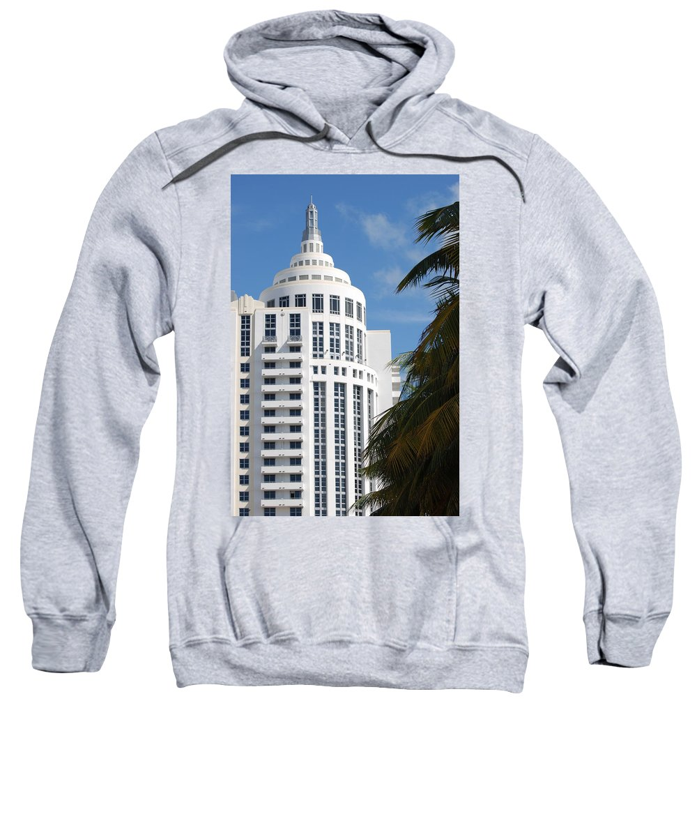 Architecture Sweatshirt featuring the photograph Miami S Capitol Building by Rob Hans