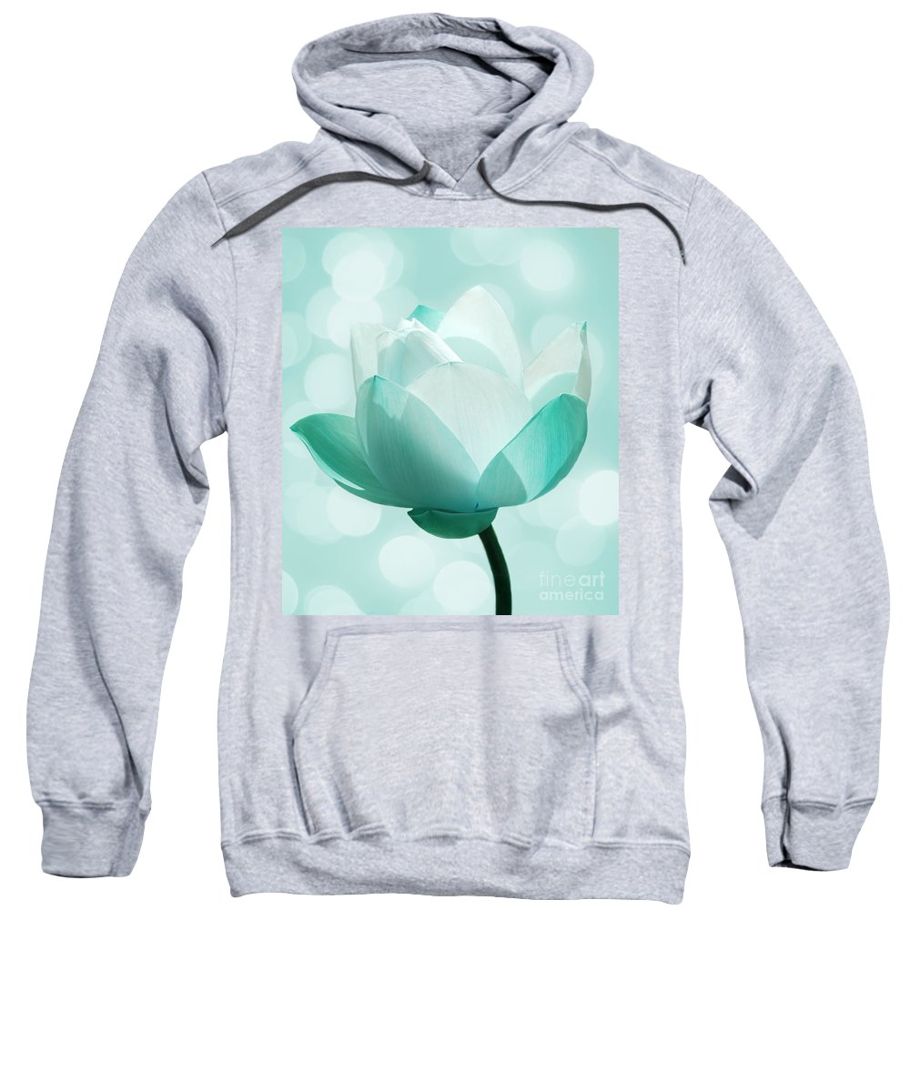 Lotus Sweatshirt featuring the photograph Mint by Jacky Gerritsen