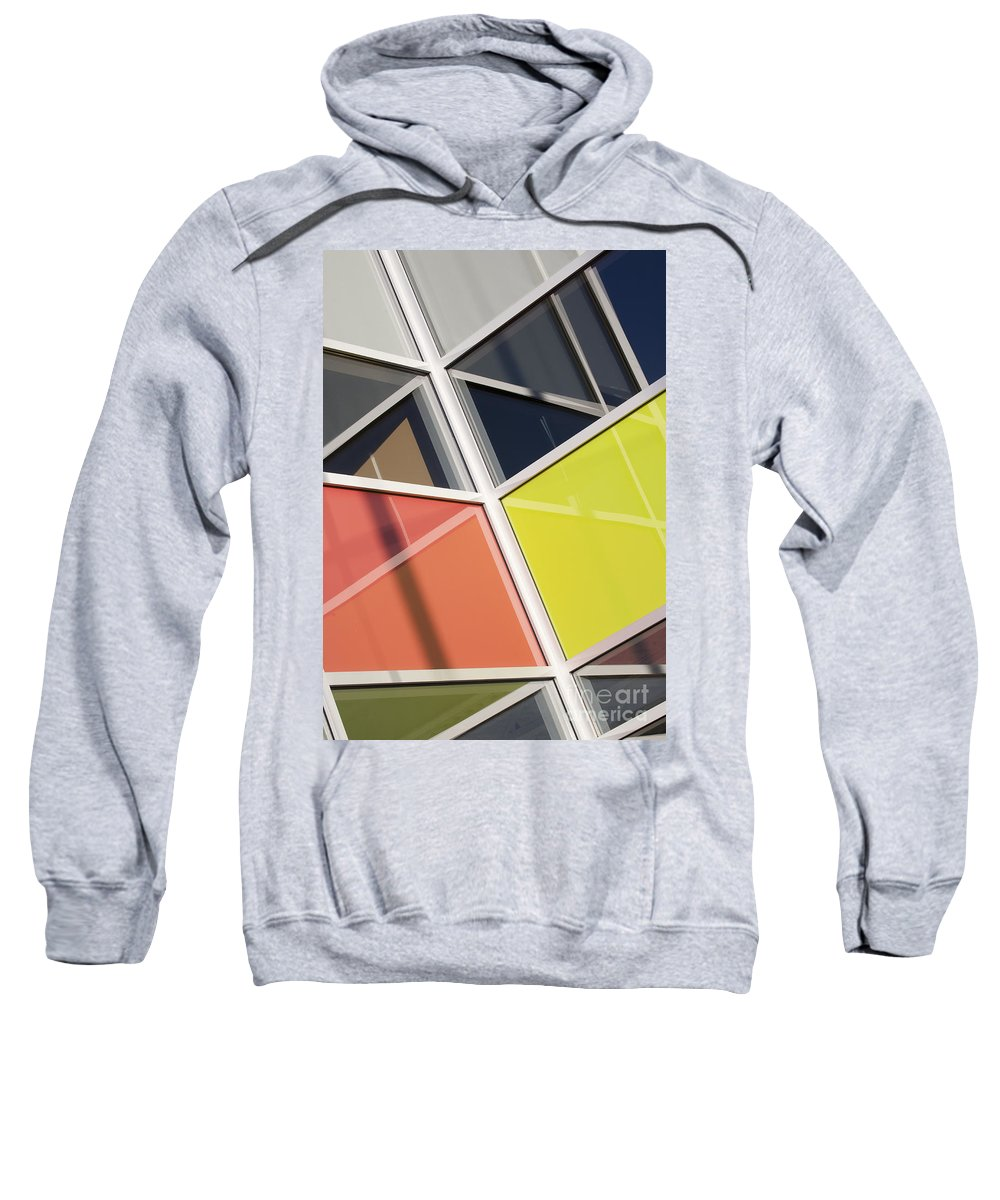Glass Sweatshirt featuring the photograph Mirrors II by Chris Dutton