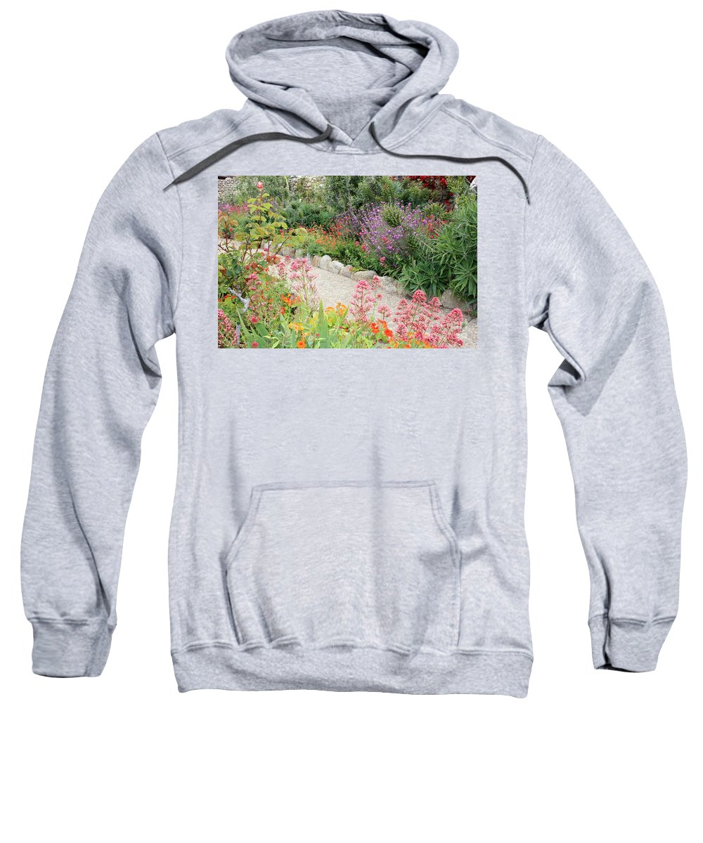 Garden Sweatshirt featuring the photograph Mission Garden by Carol Groenen
