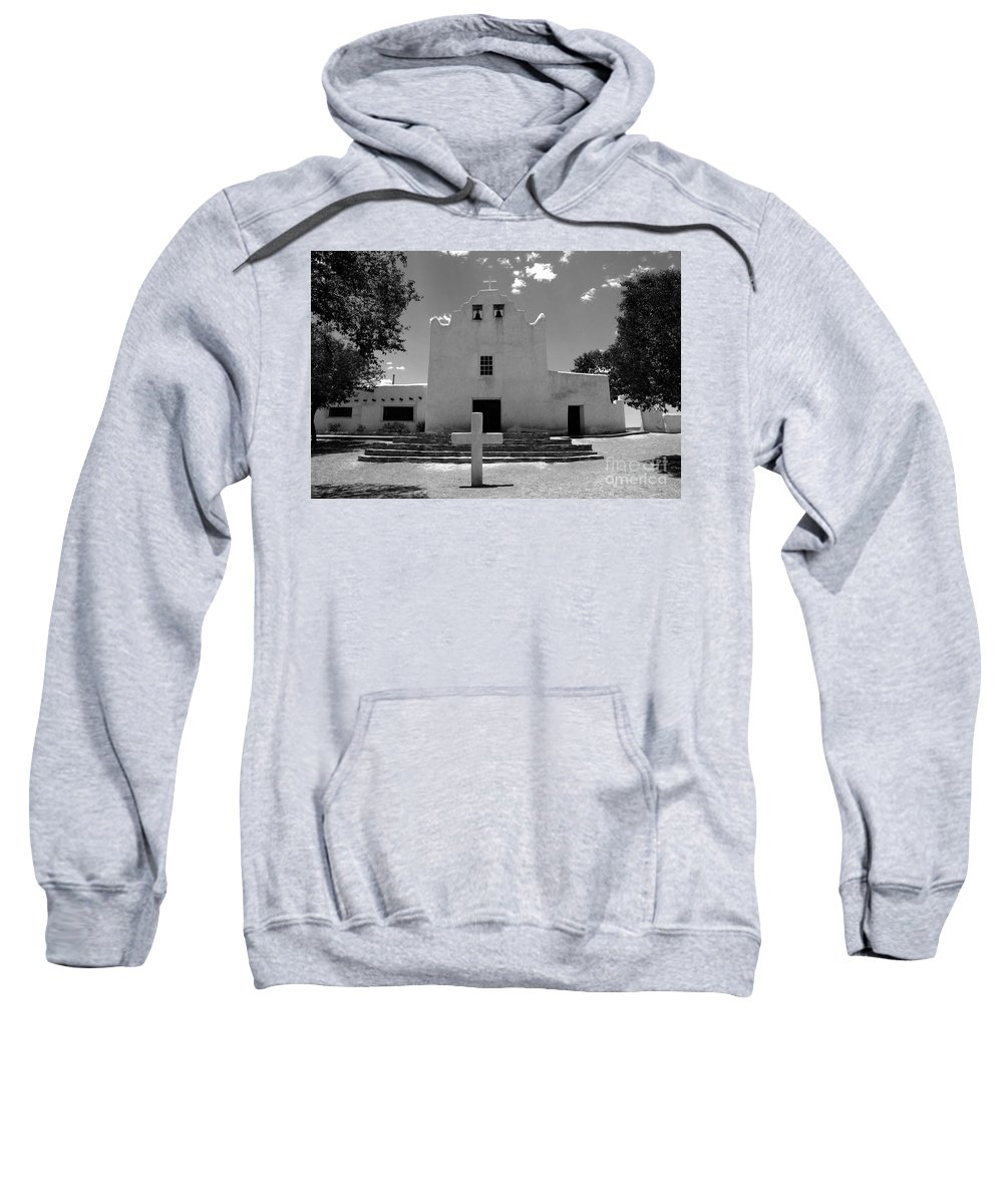 Mission San Jose Sweatshirt featuring the photograph Mission San Jose by David Lee Thompson