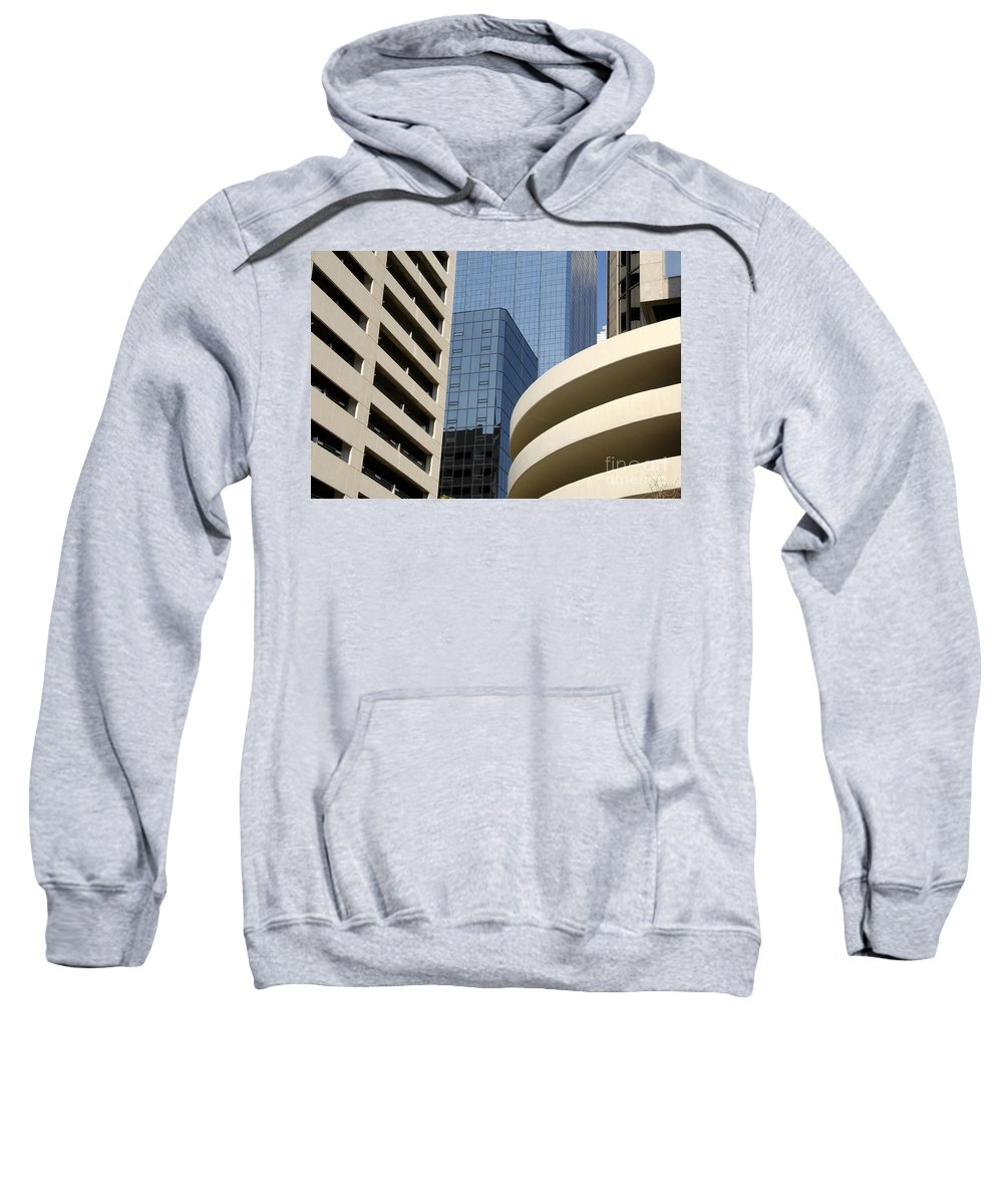 Modern Sweatshirt featuring the photograph Modern Architecture by David Lee Thompson