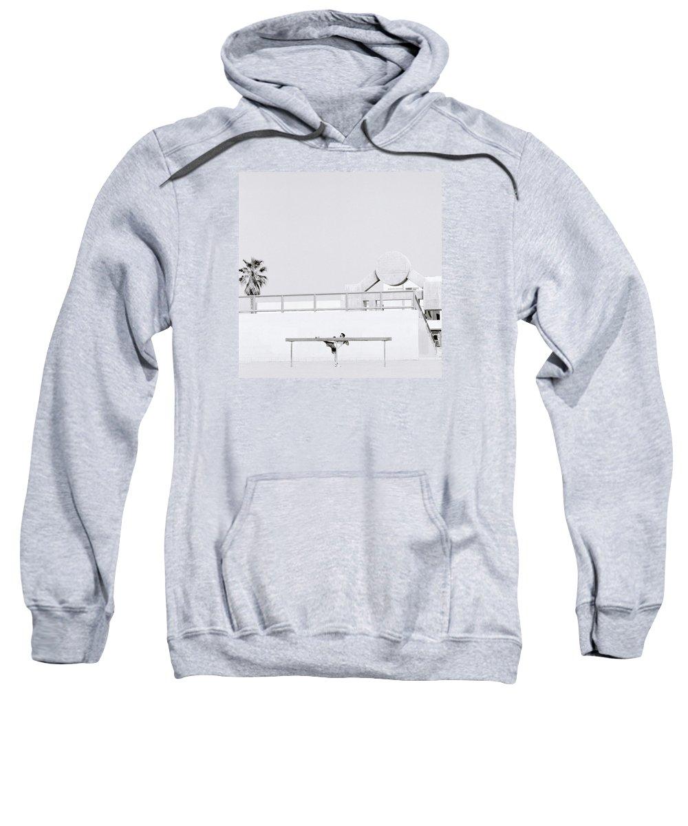California Sweatshirt featuring the photograph Modern Solitude by Shaun Higson