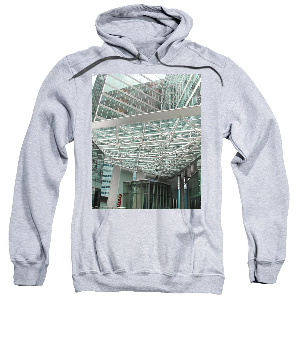 Vienna Sweatshirt featuring the photograph Modern Vienna by Ian MacDonald