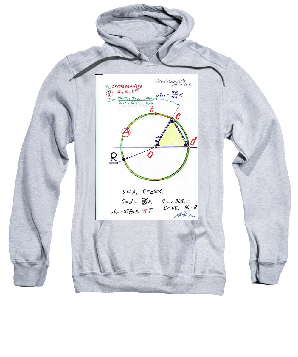 Great Knowledge Sweatshirt featuring the photograph Molchanov,s Paradox by Sergey Molchanov