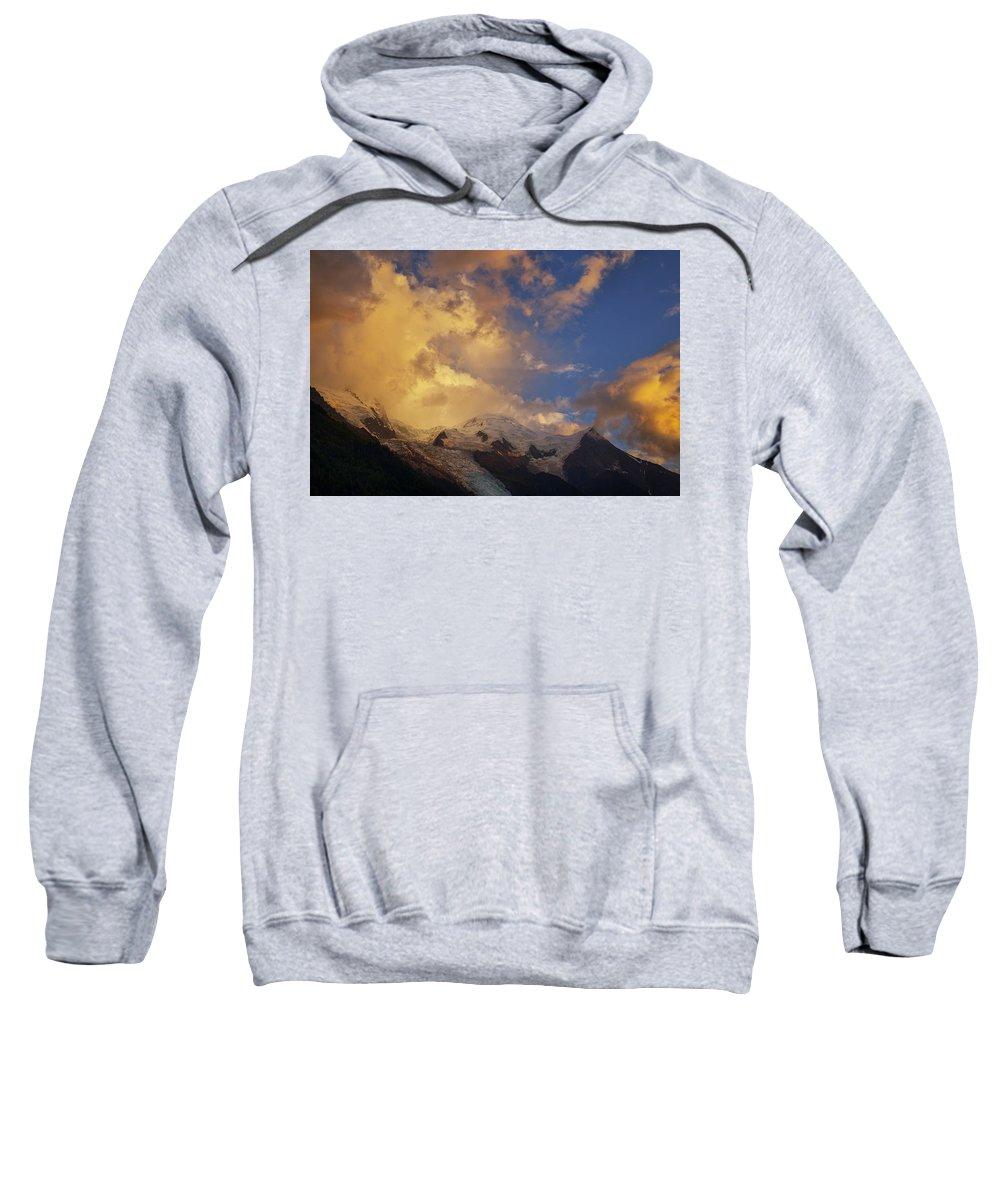Sky Sweatshirt featuring the photograph Mont-blanc by Baptiste De Izarra