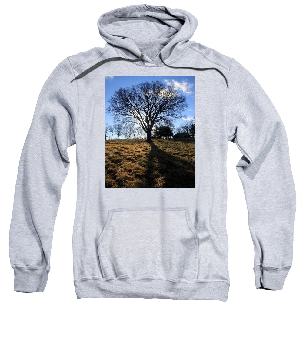 Nature Sweatshirt featuring the photograph Morning After The Storm by Kenn Willard