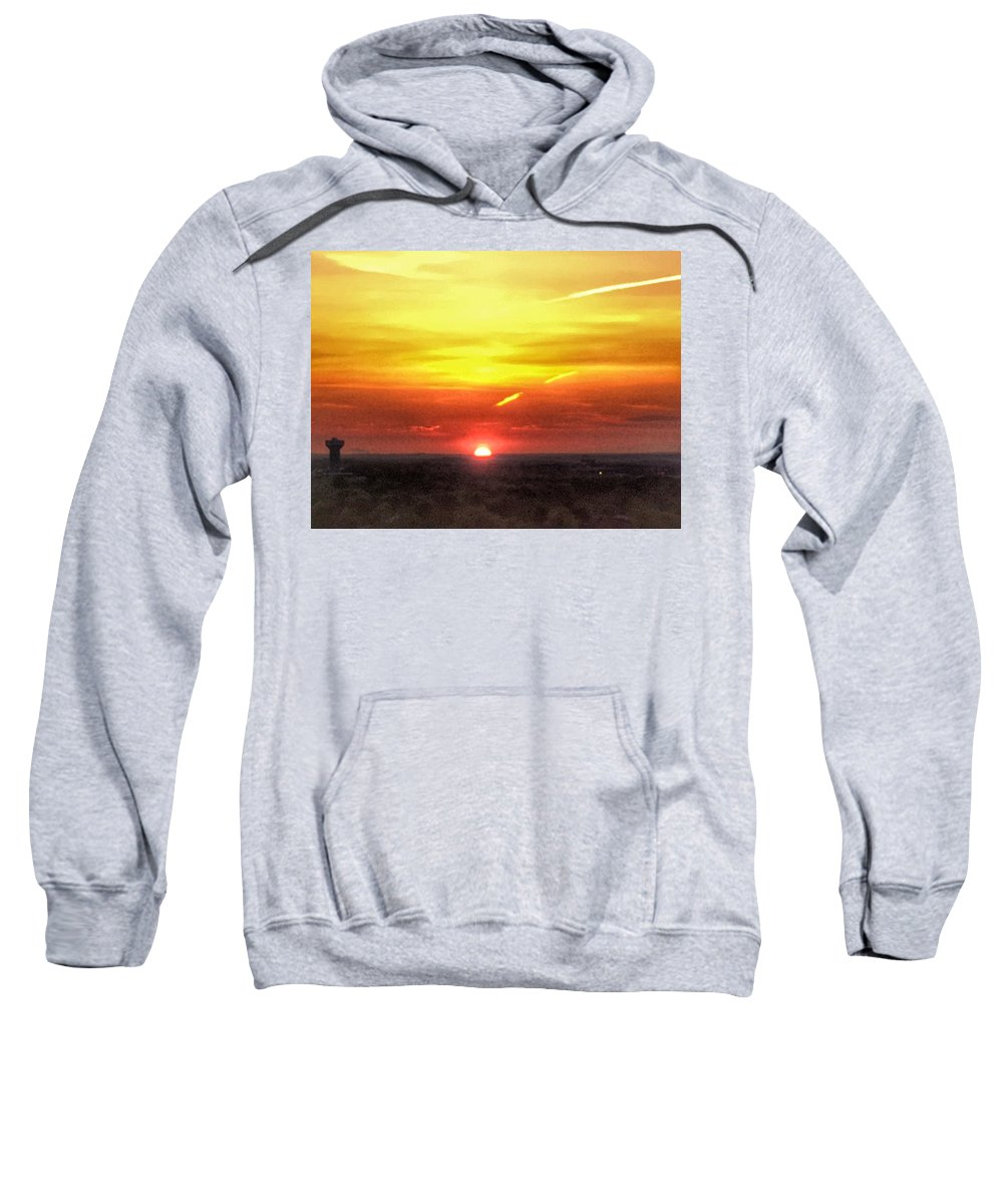 Sunrise Sweatshirt featuring the photograph Morning Glow by Kate McGlynn