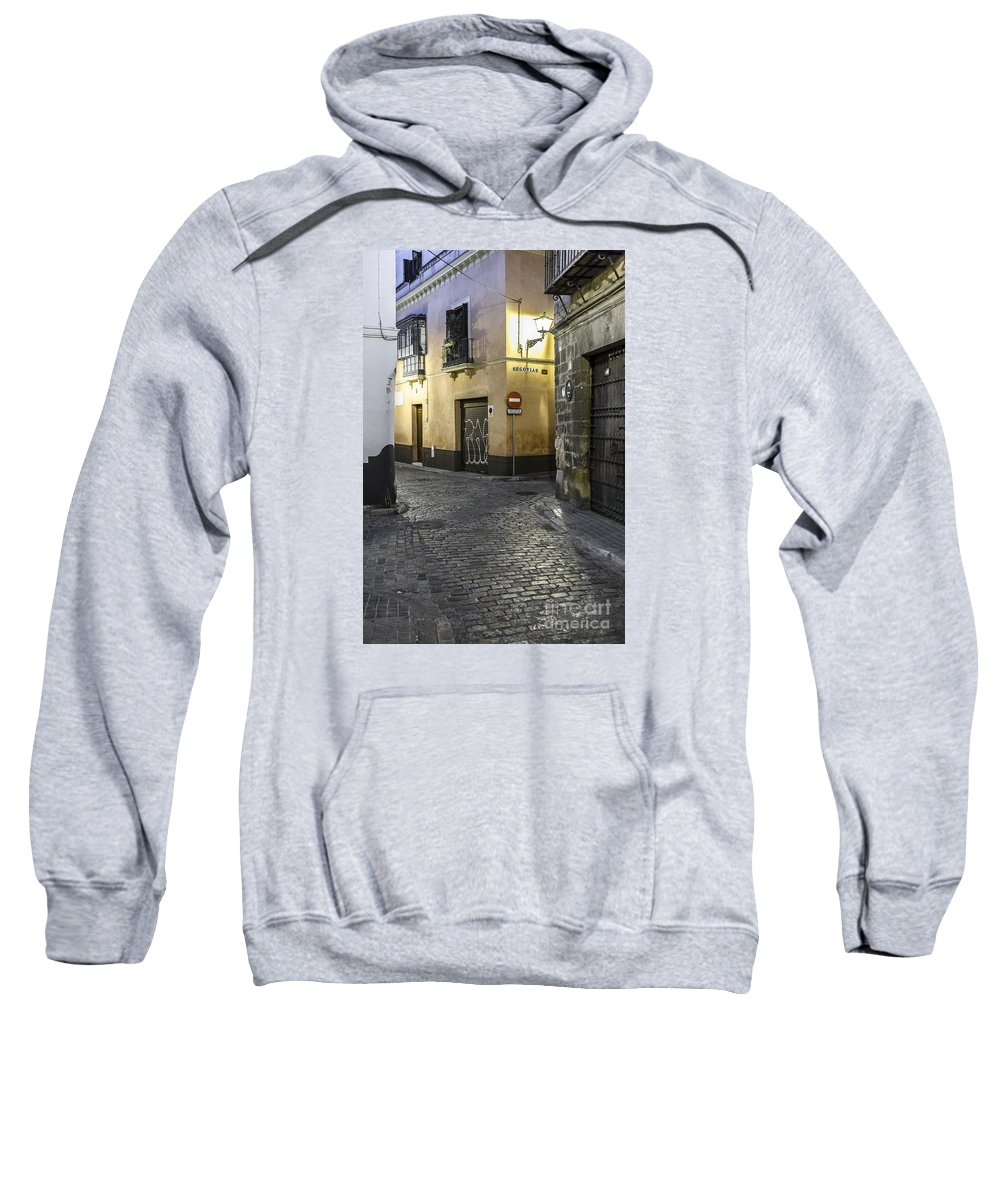 Seville Sweatshirt featuring the photograph Morning In Seville by Lasse Ansaharju