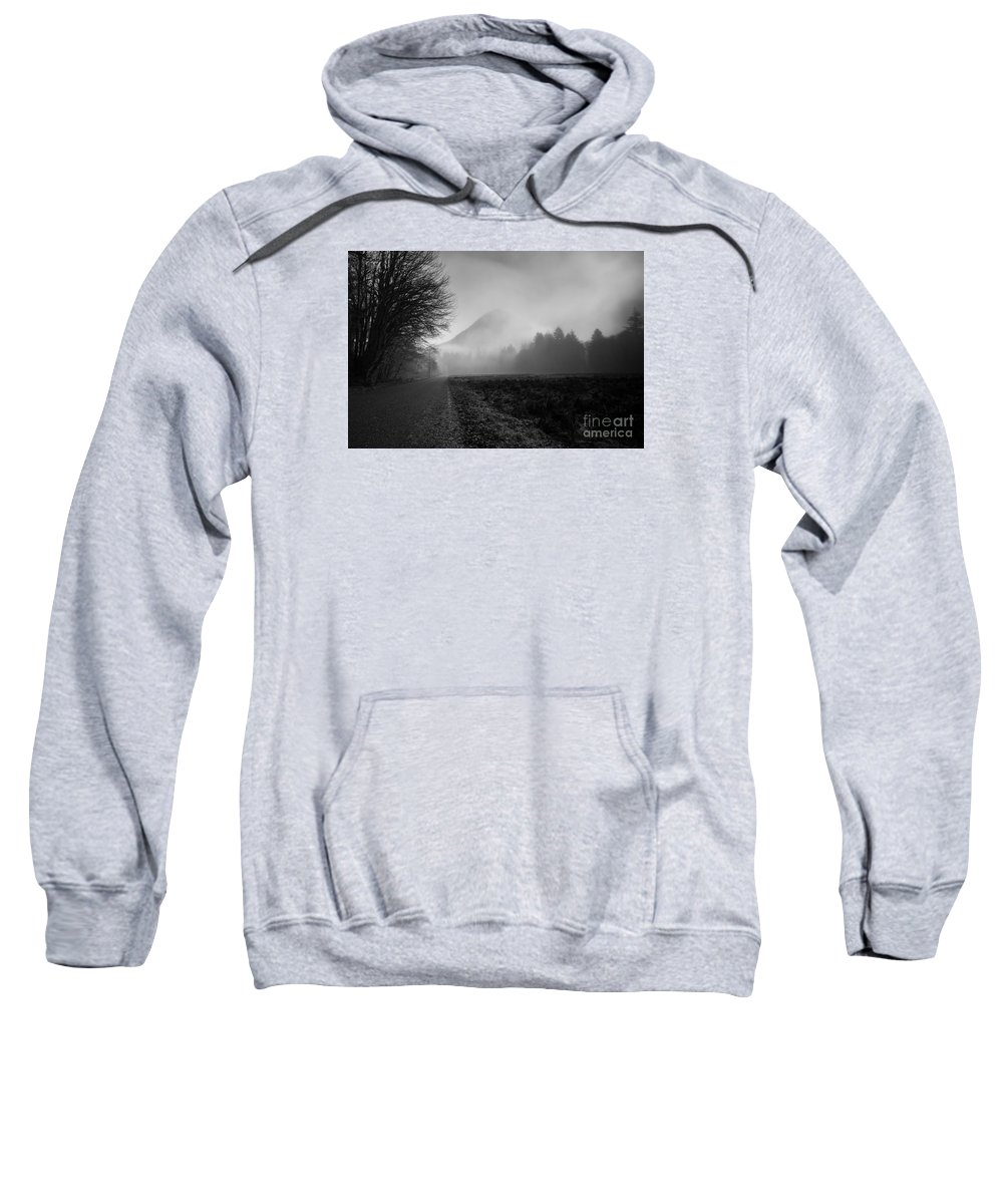 Olympic National Park Sweatshirt featuring the photograph Morning Scene In Olympic National Park by Arndt Hufenbach