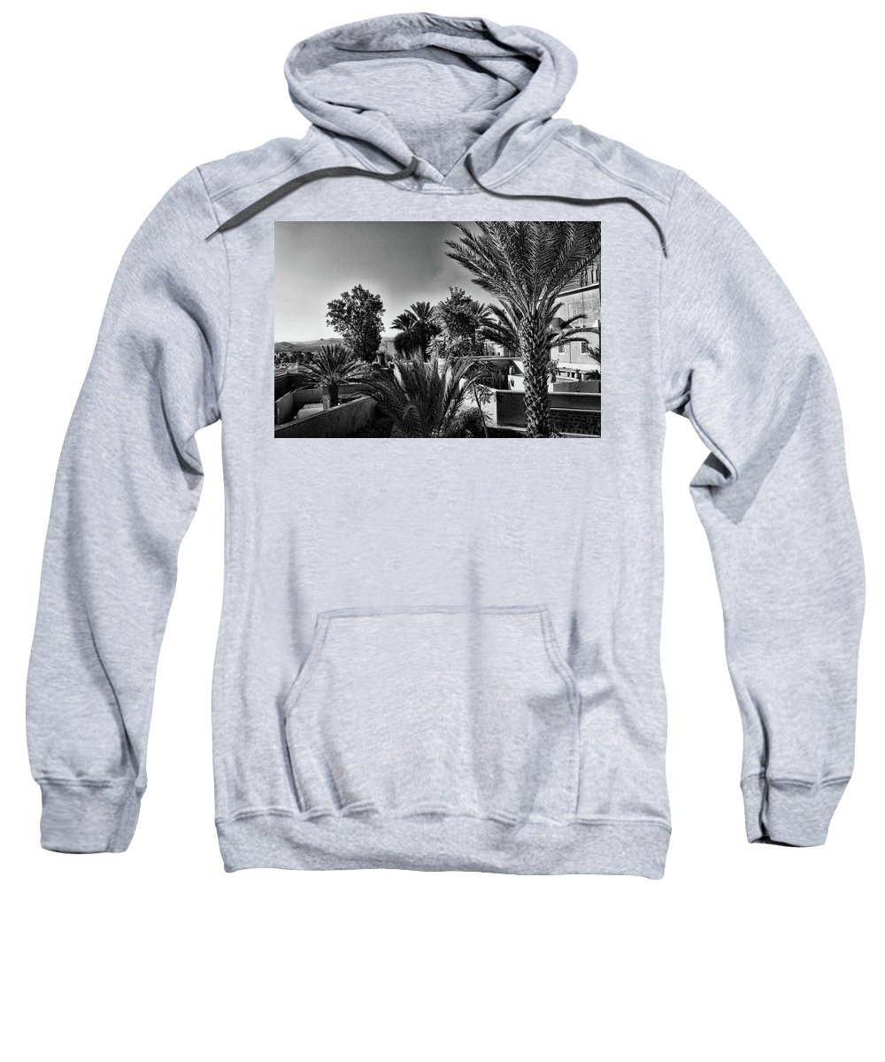 Sweatshirt featuring the photograph Morocco by Chroma Photographer