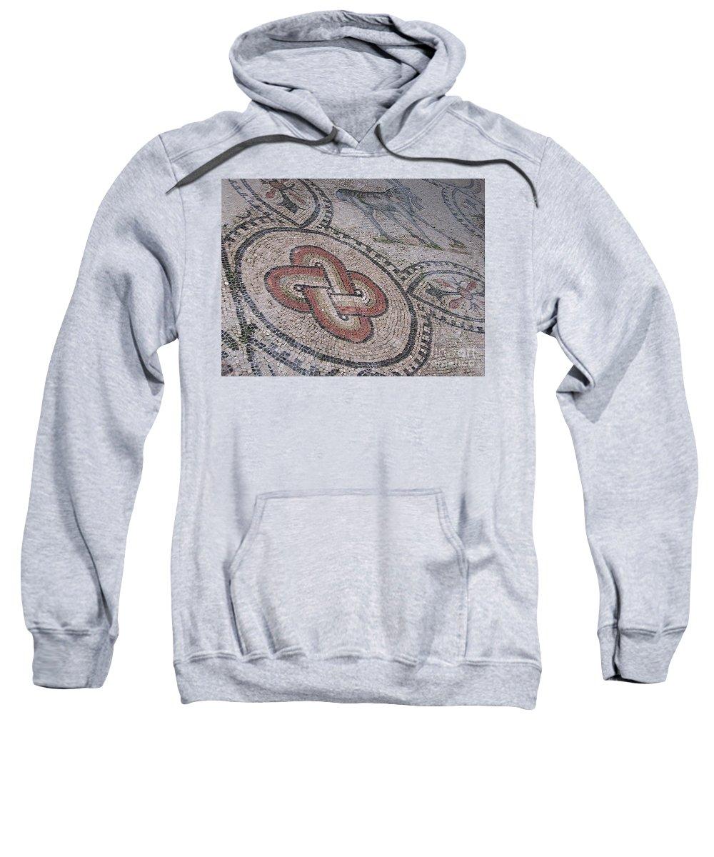 Italy Sweatshirt featuring the photograph mosaics in Ravenna II by Dragica Micki Fortuna