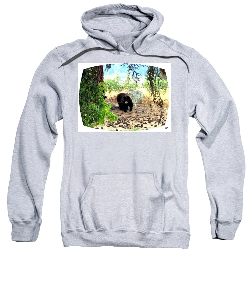 Bear Sweatshirt featuring the photograph Mother Bear by Will Borden