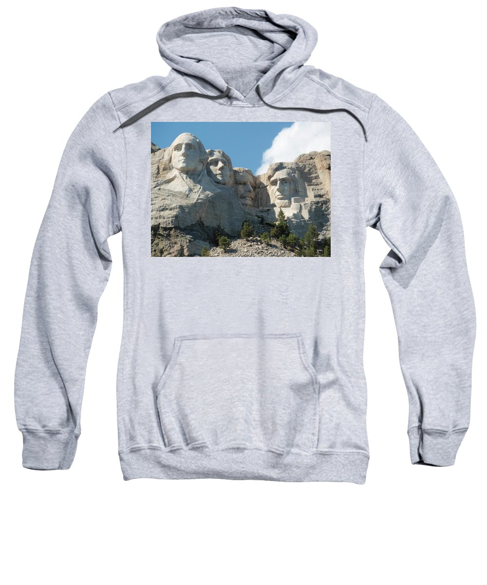 Landscape Sweatshirt featuring the photograph Mount Rushmore Monument by Dennis Boyd