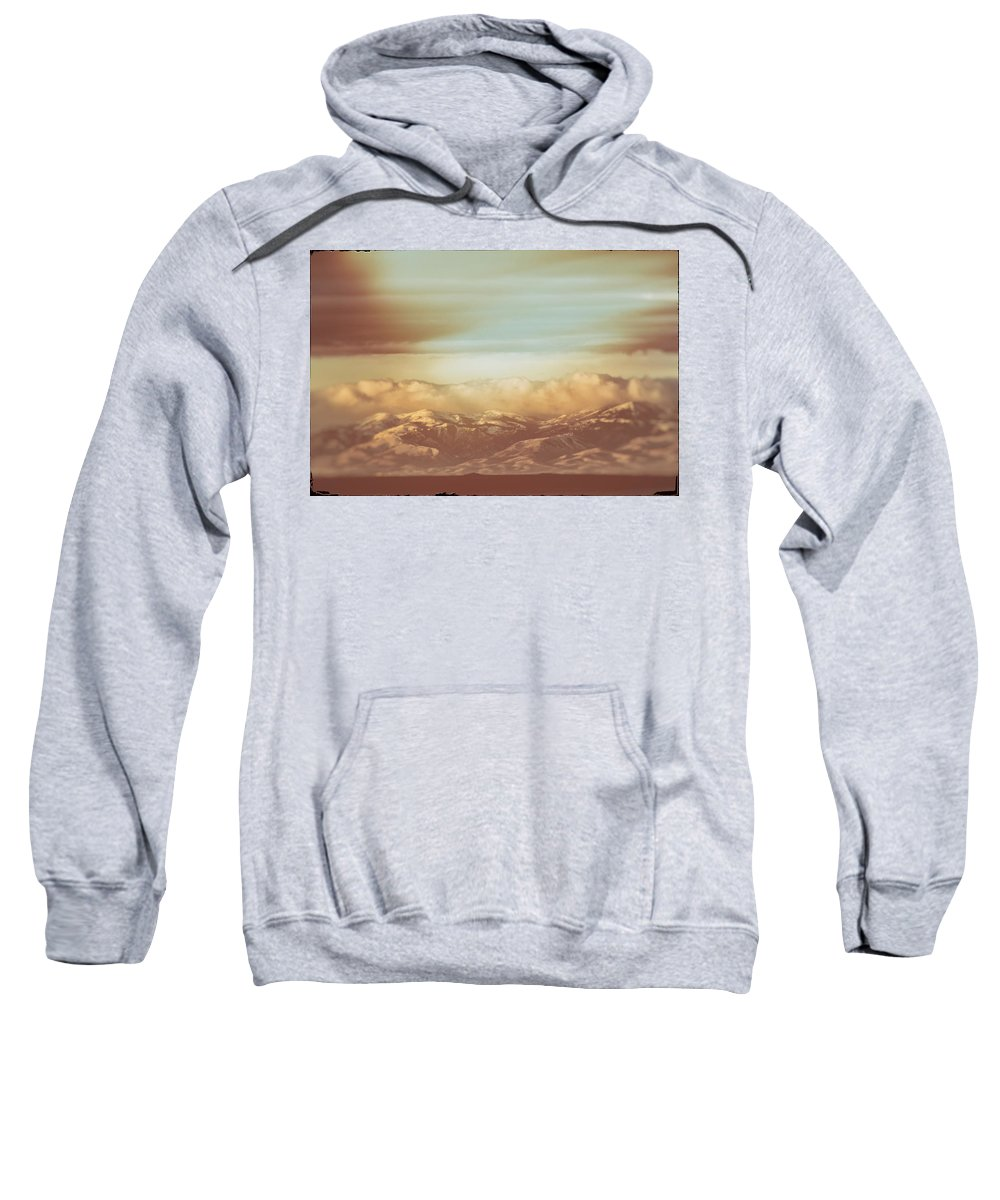 Mountain Sweatshirt featuring the photograph Mountain Classic1 by Bob Lyle