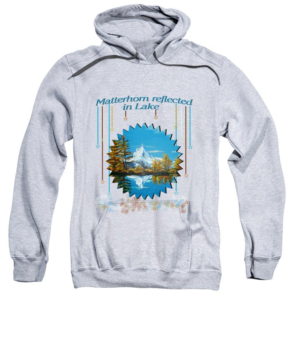 Matterhorn Hooded Sweatshirts T-Shirts
