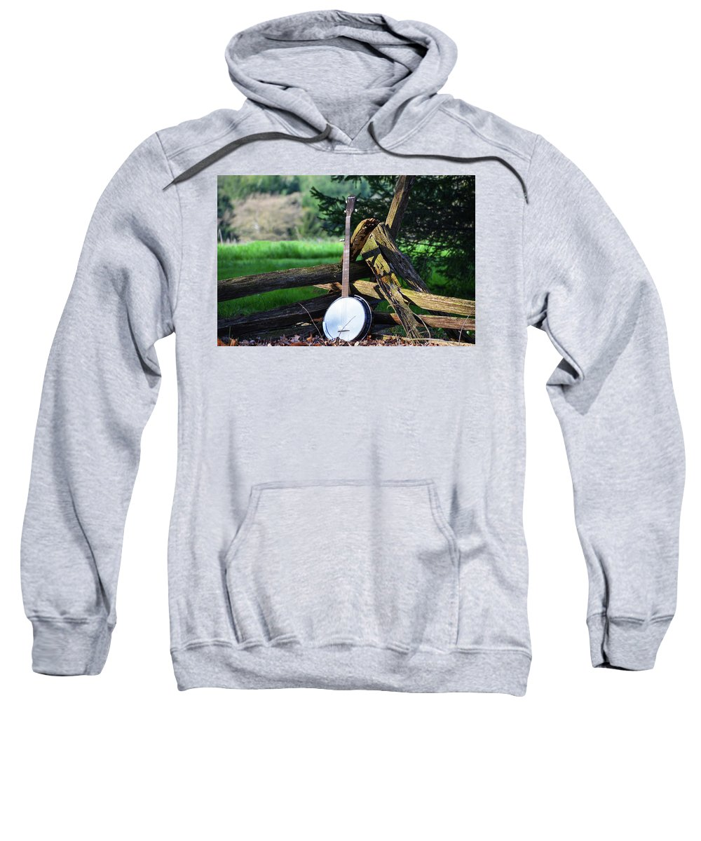 Mountain Sweatshirt featuring the photograph Mountain Music by Bill Cannon