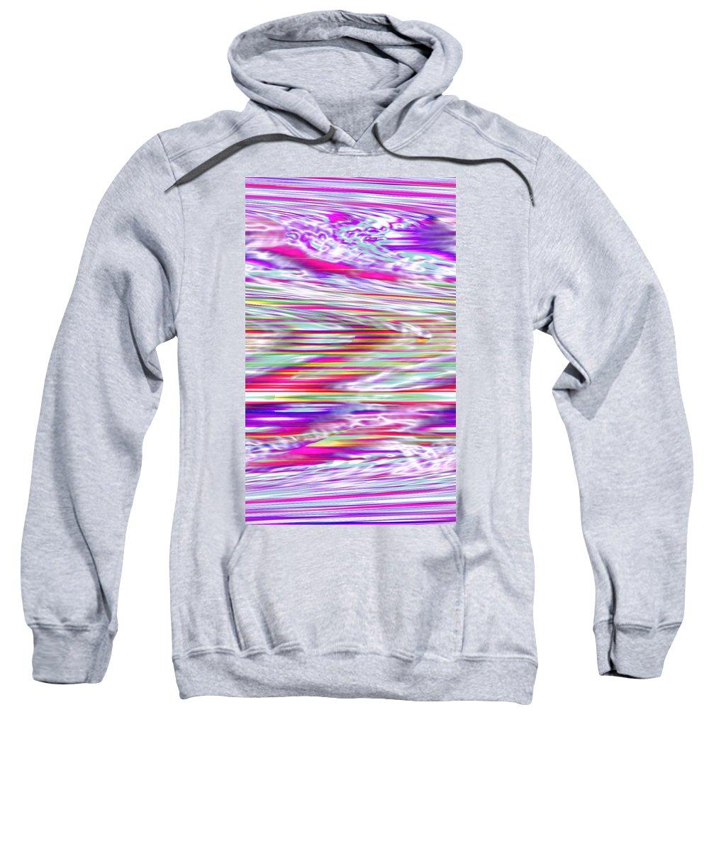 Moveonart! Digital Gallery Sweatshirt featuring the digital art Moveonart All Dreaming Now by Jacob Kanduch