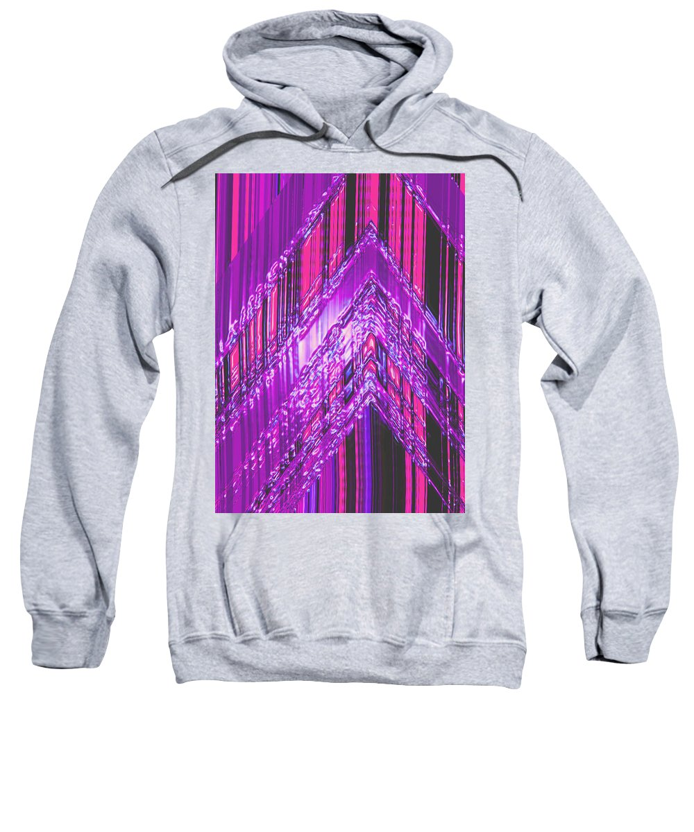 Moveonart! Digital Gallery Sweatshirt featuring the digital art Moveonart Amplify Your Creativity One by Jacob Kanduch