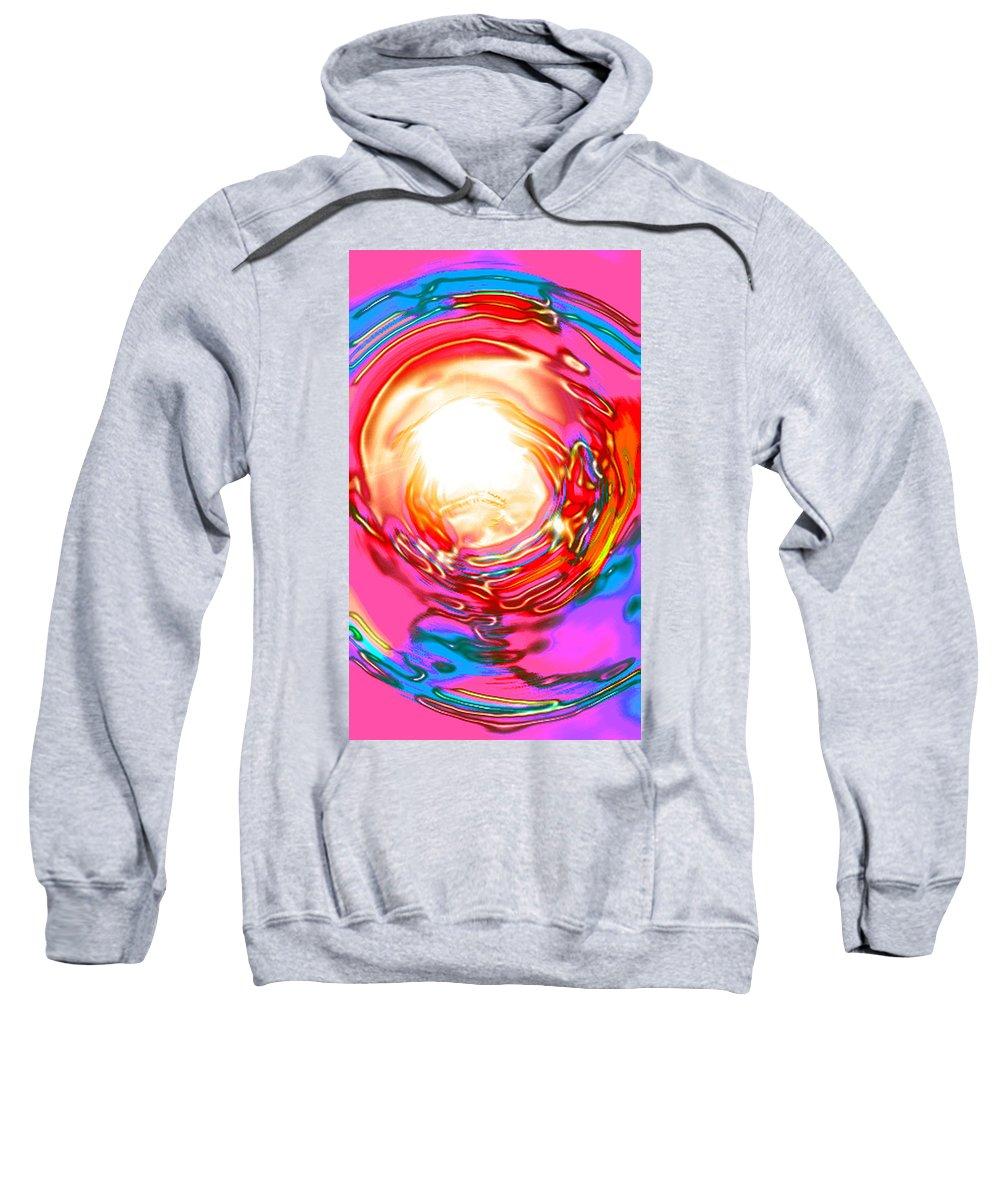 Moveonart! Digital Gallery Sweatshirt featuring the digital art Moveonart Beyond The Circumstance by Jacob Kanduch