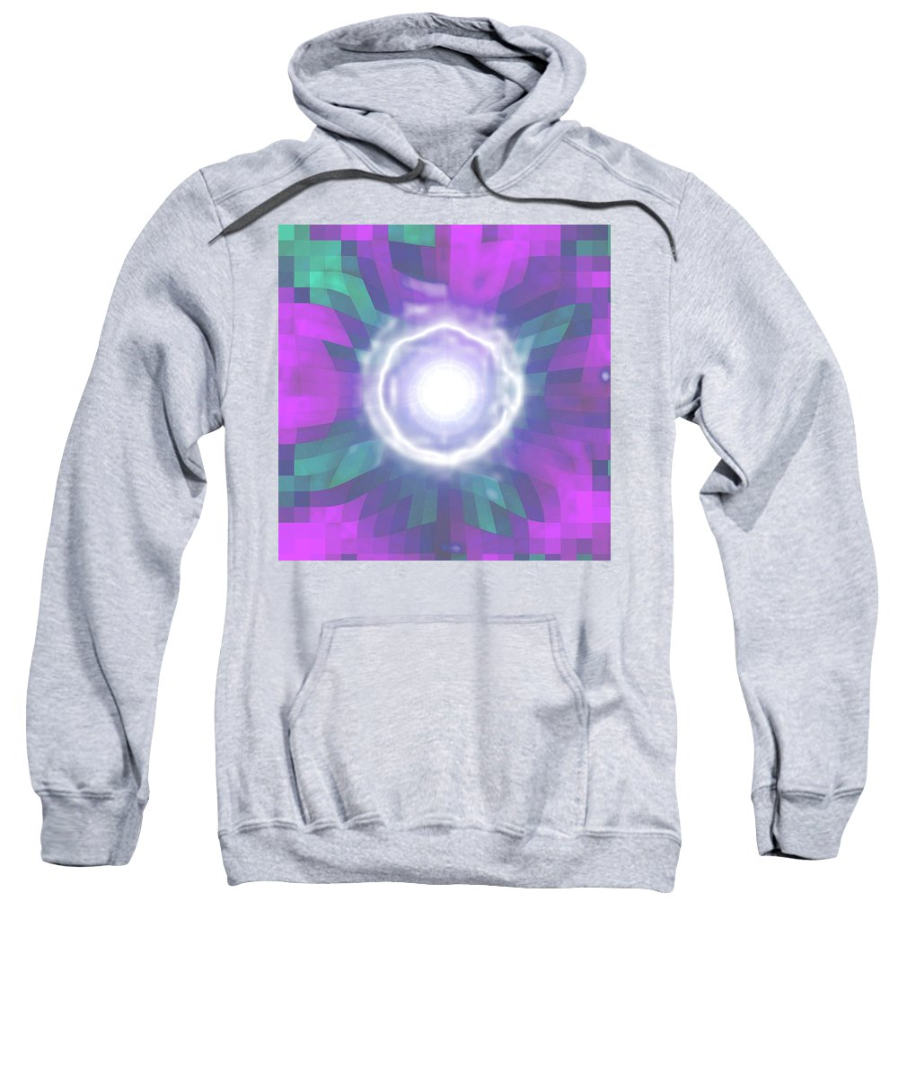 Moveonart! Digital Gallery Sweatshirt featuring the digital art Moveonart Creative Mind Blessing by Jacob Kanduch