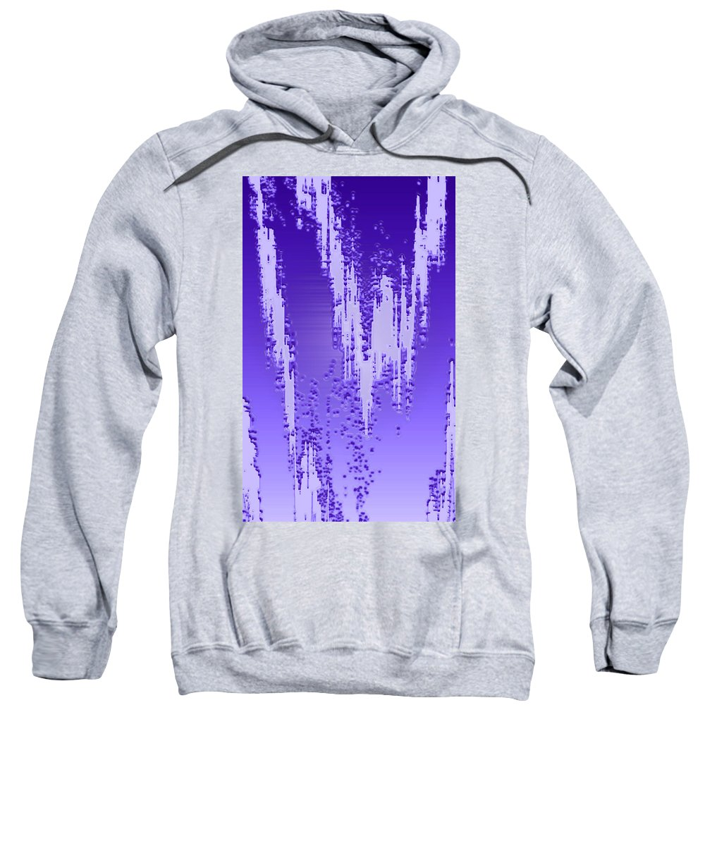 Moveonart! Digital Gallery Sweatshirt featuring the digital art Moveonart Dream Research One by Jacob Kanduch