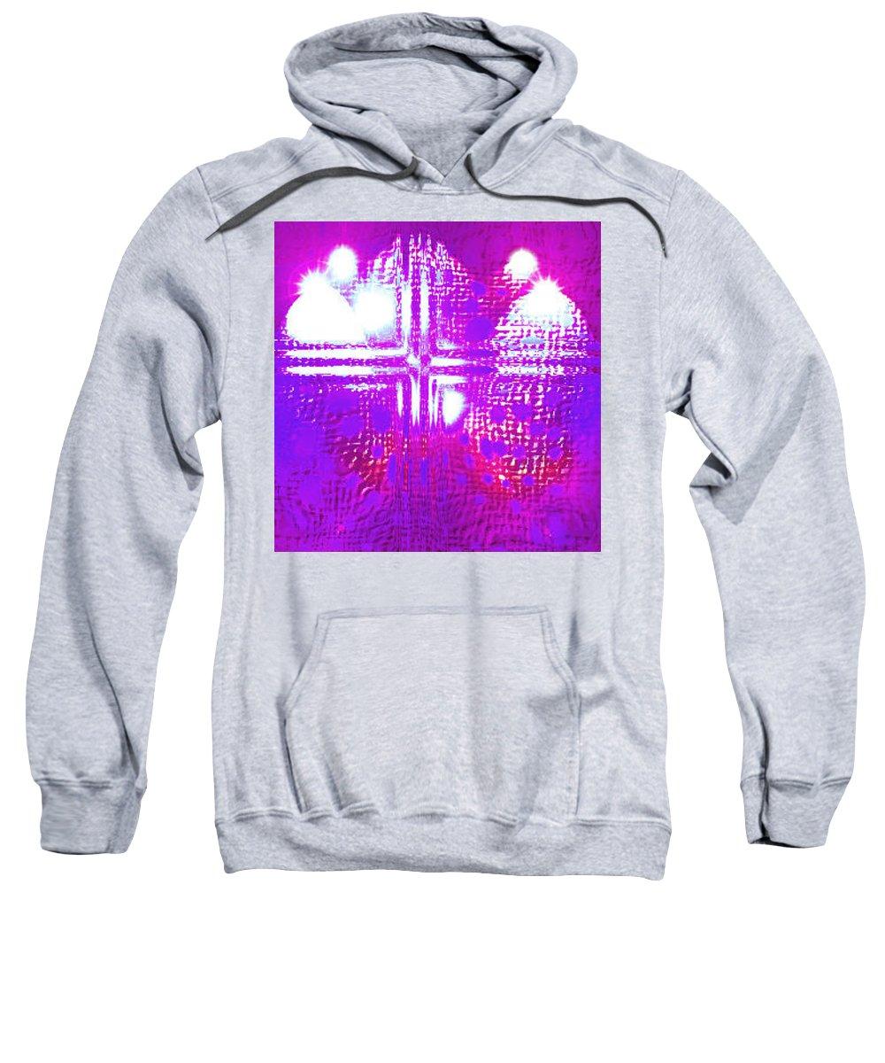 Moveonart! Digital Gallery Sweatshirt featuring the digital art Moveonart Eternal Royal Provision by Jacob Kanduch
