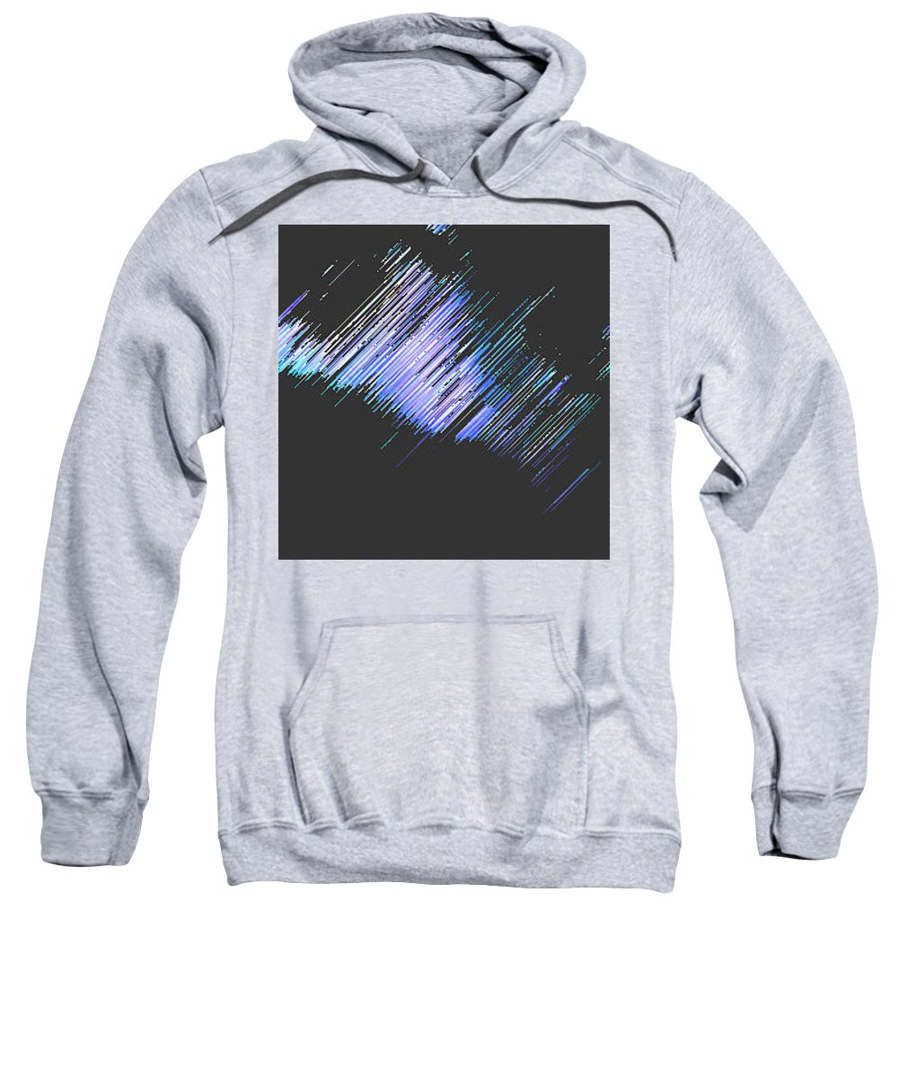 Moveonart! Digital Gallery Sweatshirt featuring the digital art Moveonart Follow Your Dreams Tonite by Jacob Kanduch