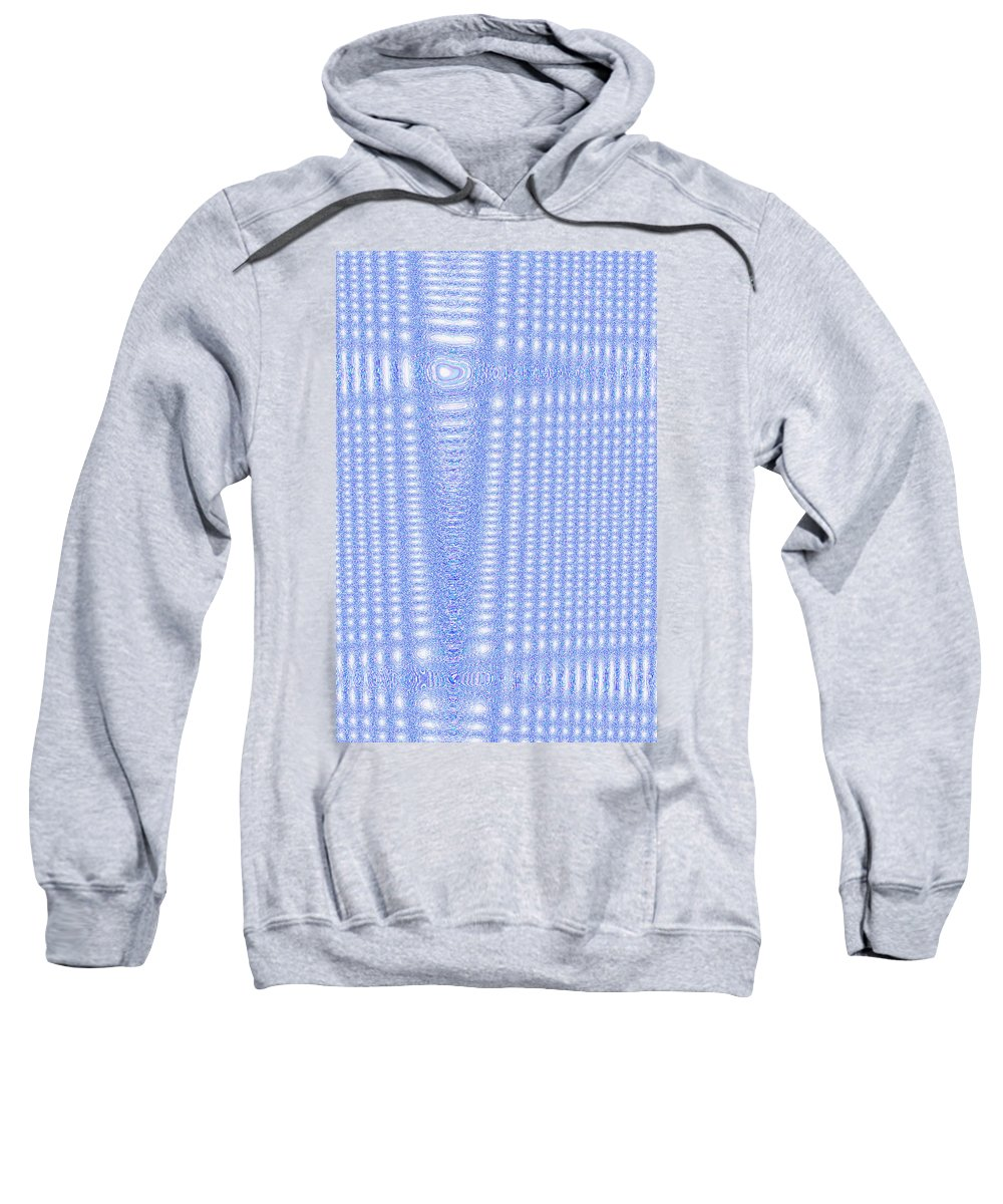 Moveonart! Digital Gallery Sweatshirt featuring the digital art Moveonart Freely Believe by Jacob Kanduch