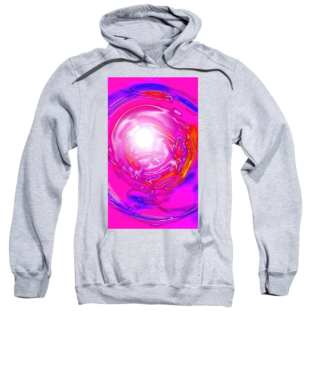 Moveonart! Digital Gallery Sweatshirt featuring the digital art Moveonart In Light Of The Matter by Jacob Kanduch
